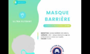 Masques JSE Médical réutilisables